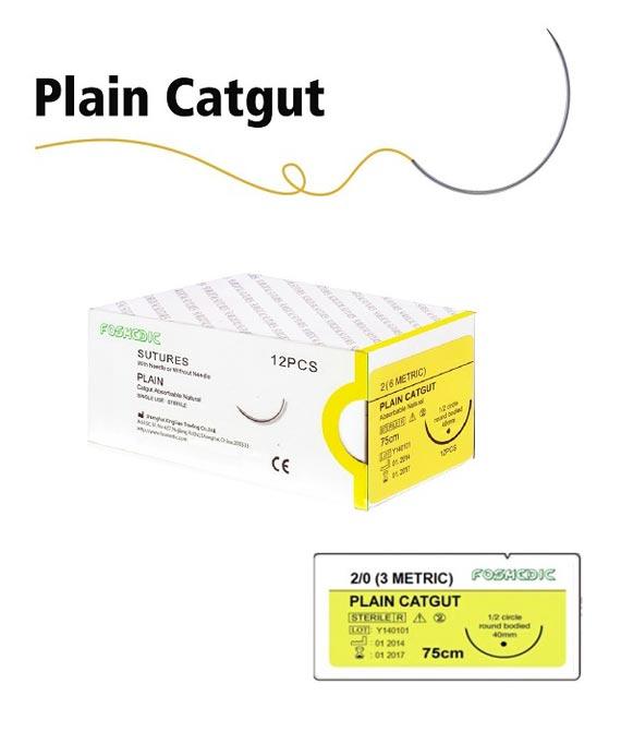 Plain Catgut Sutures