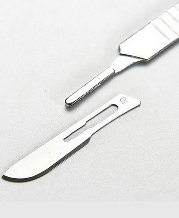Stainless Steel Scalpel Handle